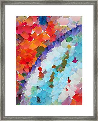 Capixart Abstract 63 Framed Print