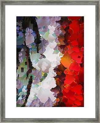 Capixart Abstract 65 Framed Print