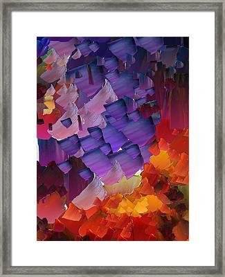 Capixart Abstract 66 Framed Print