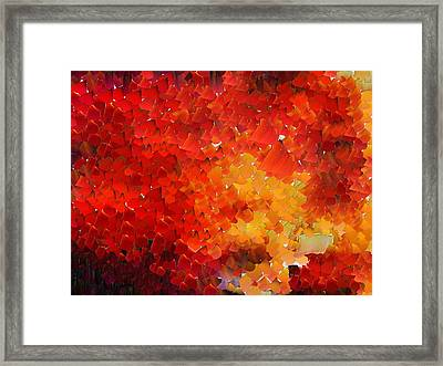 Capixart Abstract 68 Framed Print
