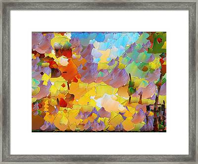 Capixart Abstract 70 Framed Print