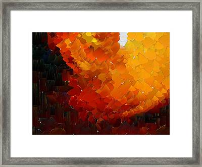 Capixart Abstract 73 Framed Print