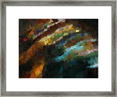 Capixart Abstract 74 Framed Print