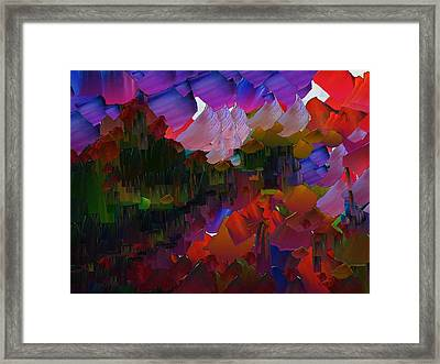Capixart Abstract 75 Framed Print