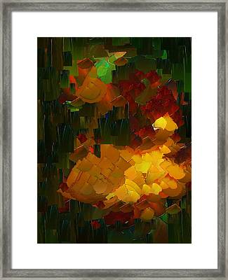 Capixart Abstract 76 Framed Print
