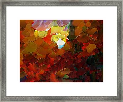 Capixart Abstract 78 Framed Print