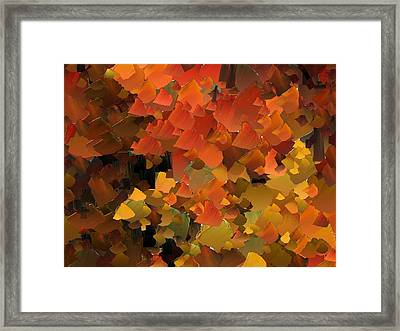 Capixart Abstract 79 Framed Print