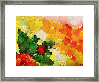 Capixart Abstract 81 Framed Print