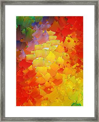 Capixart Abstract 87 Framed Print