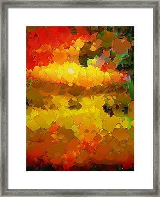 Capixart Abstract 88 Framed Print