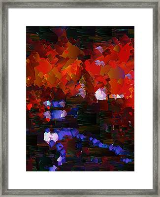 Capixart Abstract 89 Framed Print