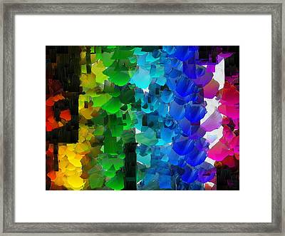 Capixart Abstract 93 Framed Print
