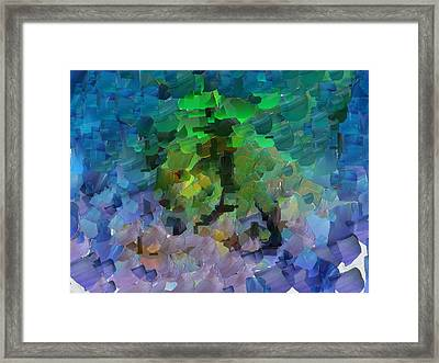 Capixart Abstract 95 Framed Print
