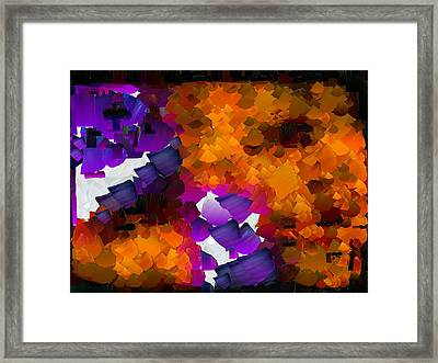 Capixart Abstract 96 Framed Print