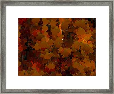 Capixart Abstract 98 Framed Print