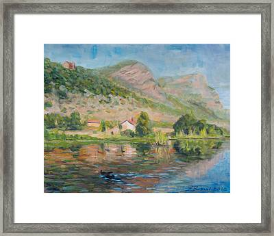 Capodifiume Framed Print