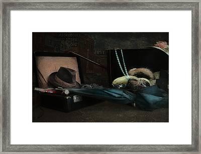 Capone Framed Print