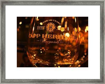 Capp Heritage 2 Framed Print by Penelope Moore