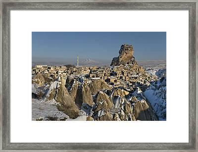 Cappadocia In Winter Framed Print