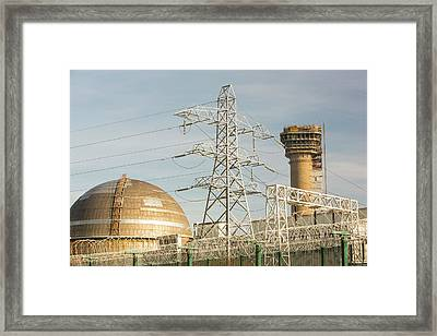 Capped Off Nuclear Reactor Framed Print