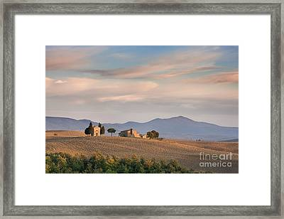 Shades Of Tuscany Framed Print by Rod McLean