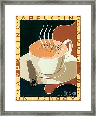 Cappuccino Framed Print by Brian James