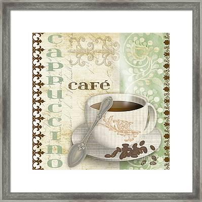 Cappuccino-jp2254-green Framed Print