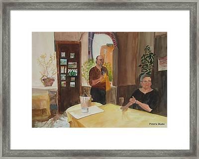 Capretz Framed Print