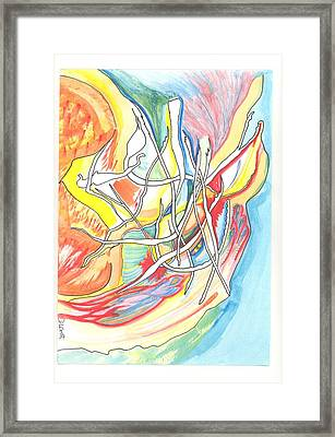 Capricious Framed Print by Donna Crist