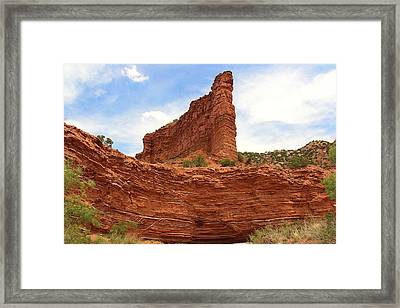 Framed Print featuring the photograph Caprock Canyons State Park 3 by Elizabeth Budd