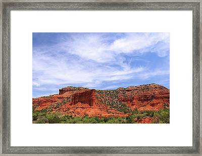 Framed Print featuring the photograph Caprock Canyons State Park by Elizabeth Budd