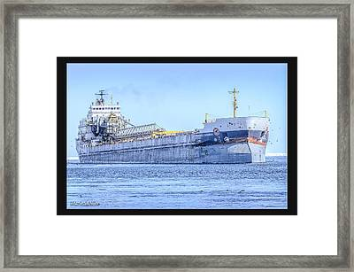 Capt Henry Jackman Vessel Framed Print by LeeAnn McLaneGoetz McLaneGoetzStudioLLCcom