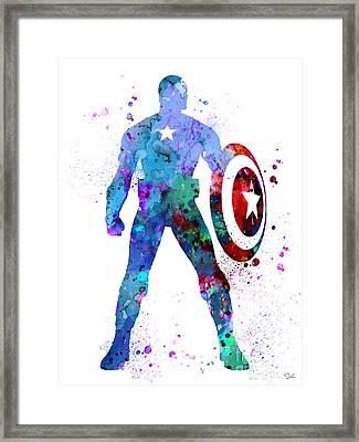Captain America 2 Framed Print