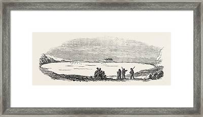 Captain Austins Arctic Expedition Winter Quarters Of Sir Framed Print by English School