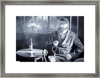Captain Birdseye, 2008 Oils Framed Print by Kevin Parrish