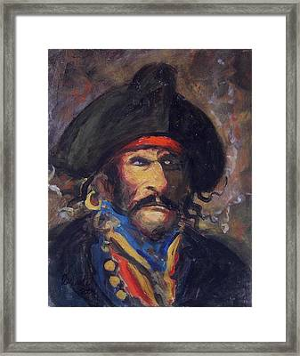 Captain Charming Framed Print by R W Goetting