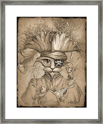 Captain Claw Framed Print by Jeff Haynie