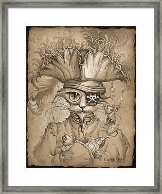 Captain Claw Framed Print