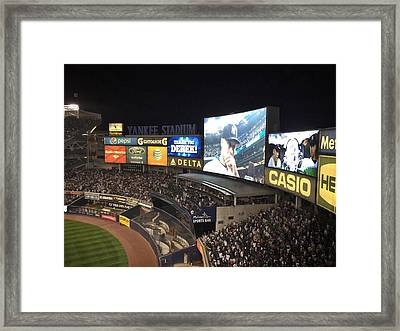 Captain Clutch Framed Print