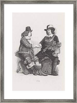 Captain Cornelis Jansz Witsen With The Silver Drinking Horn Framed Print