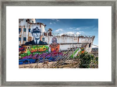 Captain Jack Framed Print by Adrian Evans