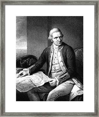 Captain James Cook Framed Print by Collection Abecasis