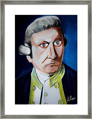 Captain James Cook Framed Print