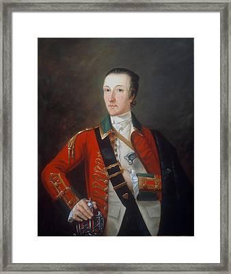 Captain James Gorry, 87th Regiment Framed Print