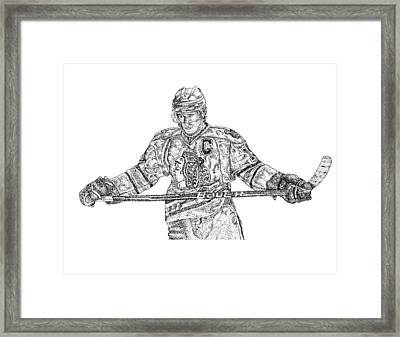 Captain Framed Print by Joe Rozek