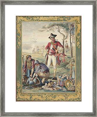 Captain Kidd  Helen Maitland Armstrong Framed Print by Paul Ashby Antique Paintings