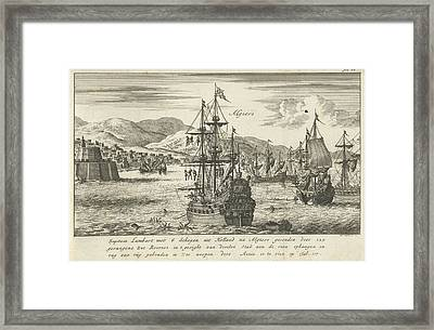 Captain Lambert Hendrikszoon Hangs 125 Pirates Framed Print