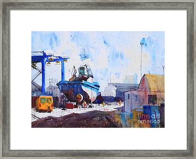 Captain Louis Thomas Framed Print by Andre MEHU