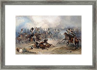 Captain Norman Ramsay, Royal Horse Framed Print by George Bryant Campion