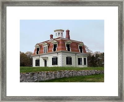 Captain Pennimans House Framed Print by Catherine Gagne